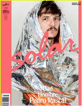 Pedro Pascal Is a 'Bad Hombre' for 'Solar Magazine' Cover