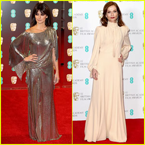 Penelope Cruz & Isabelle Huppert Slay the BAFTAs 2017 Red Carpet