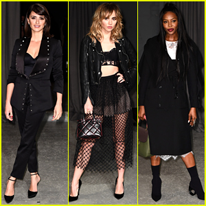 Penelope Cruz Joins Lots of Stars at Burberry's LFW Show!