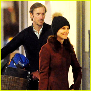 Pippa Middleton's Fiance James Matthews Is a Gentleman, Pushes Her Bicycle for Her!