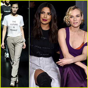 Prabal Gurung's NYFW Brings Out the Stars, Ends with Feminist Moment