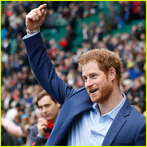 Prince Harry Pays Surprise Visit to Rugby Fans at Training Session