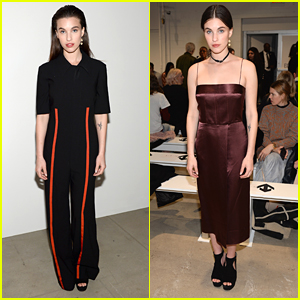 Rainey Qualley Sits Front Row at Multiple NYFW Shows
