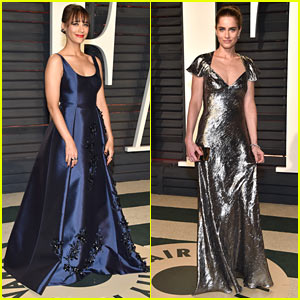 Rashida Jones Celebrates Her Birthday Weekend at Vanity Fair Oscar Party