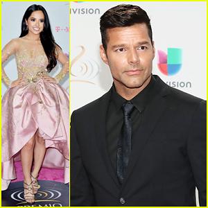 Ricky Martin Reveals First Celebrity Male Crush Was John Travolta!