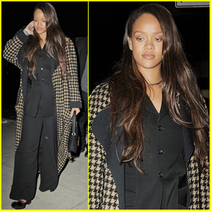 Rihanna Steps Out After Releasing New Song 'Selfish'