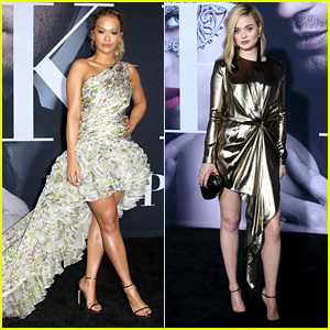 Rita Ora & Bella Heathcote Stun at 'Fifty Shades Darker' L.A. Premiere!