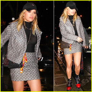 Rita Ora Enjoys Night Out in WeHo