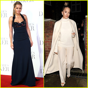 Rita Ora Rocks Two Looks for 'Fifty Shades' Premiere in London