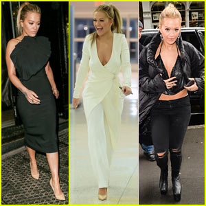 Rita Ora Shows Off Her Sexy Style While Promoting 'Fifty Shades Darker'