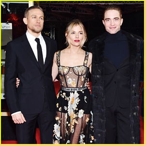 Robert Pattinson & Charlie Hunnam Look Suave at 'Lost City of Z' Berlin Premiere with Sienna Miller!