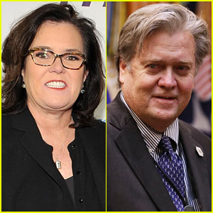 Could Rosie O'Donnell Portray Steve Bannon on 'SNL'? She's Down!