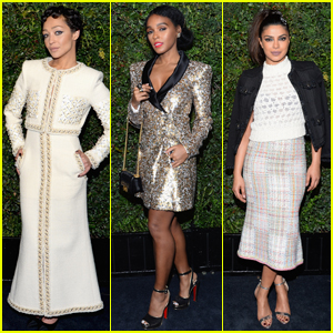 Ruth Negga & Janelle Monae Party With Chanel Pre-Oscars