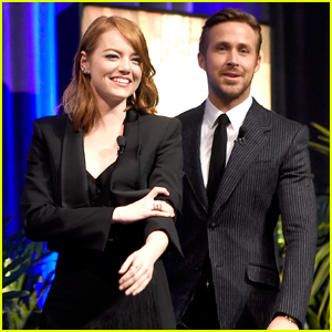 Ryan Gosling & Emma Stone Get Honored at Santa Barbara Film Fest
