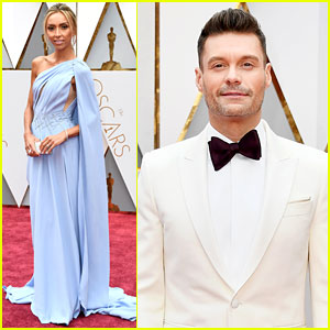 Ryan Seacrest & Giuliana Rancic Kick Off Oscars 2017 Red Carpet!