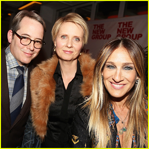 Sarah Jessica Parker & Cynthia Nixon Have A 'Sex and the City' Reunion!