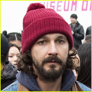 Shia LaBeouf Takes Down 'He Will Not Divide Us' Live Stream Because of Gunshots in Area