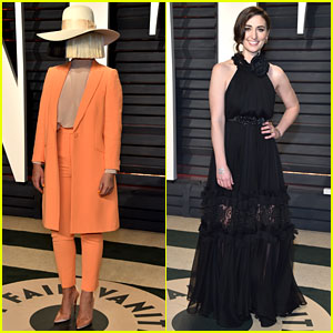 Sia & Sara Bareilles Make the Oscars After Party More Musical!
