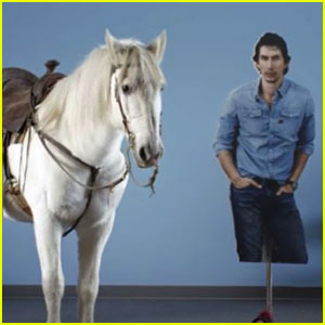 Snickers to Air First-Ever Live Super Bowl Commercial (Starring Adam Driver & A Horse) -- Watch the Hilarious Casting Videos