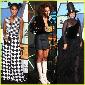 Solange Knowles Honors Erykah Badu at Essence Black Women in Music Bash!