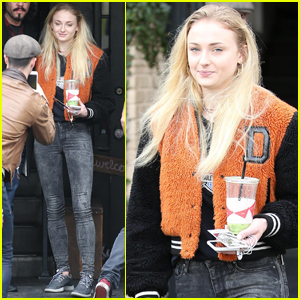 Sophie Turner Heads Back to LA After Super Bowl Weekend
