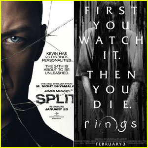 'Split' Tops Weekend Box Office, Beating Out Third 'Rings' Film