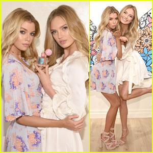 Stella Maxwell & Romee Strijd Launch Victoria's Secret's New Line Dream Angels!