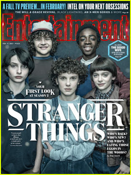 'Stranger Things' Cast Opens Up About Season Two in 'Entertainment Weekly'