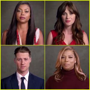 Taraji P. Henson & FOX Stars Promote Unity in Super Bowl Promo