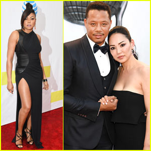 Taraji P. Henson & Terrence Howard Arrive in Style for the NAACP Image Awards 2017