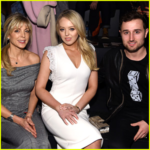 Tiffany Trump Sits Front Row at NYFW with Boyfriend & Mom