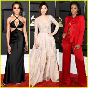 Tinashe, Jane Zhang, & Mya Show Off Their Grammys 2017 Red Carpet Style