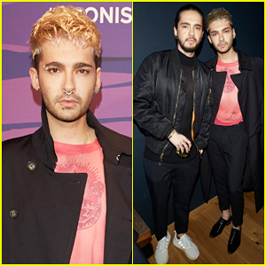 Tokio Hotel's Bill & Tom Kaulitz Hit Up Berlin's Young ICONs Award In Style!