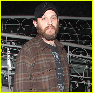 Tom Hardy Enjoys a Guys Night Out in WeHo