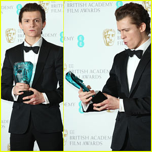 Tom Holland Wins Rising Star Award at BAFTAs 2017
