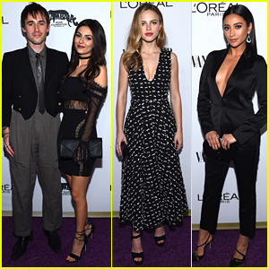 Victoria Justice & Reeve Carney Dance the Night Away at Vanity Fair's Young Hollywood Party