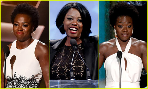 Viola Davis' 6 Best Awards Show Speeches - Watch Now!