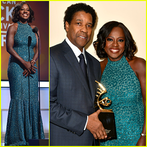 Viola Davis Is Honored by Denzel Washington at BET's Black Film Festival Honors