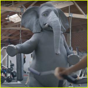 Wonderful Pistachios Super Bowl Commercial 2017 - Elephant Falls Off Treadmill
