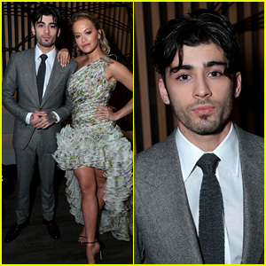 Zayn Malik Suits Up for 'Fifty Shades' Premiere with Rita Ora!