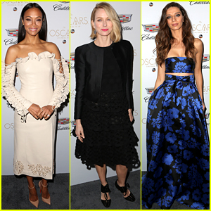 Zoe Saldana Glams Up for Oscars Week After Welcoming a Baby