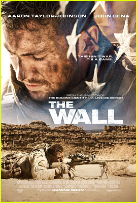 Aaron Taylor-Johnson Goes to War in 'The Wall' - New Poster Revealed