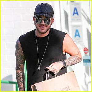 Adam Lambert Puts His Tattoos on Display in a Tank Top