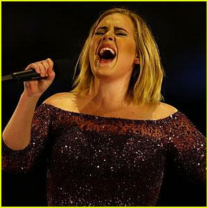 Adele's Son Angelo Got Fireworks Debris in His Eye During Her Concert Soundcheck