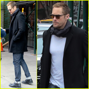 Alexander Skarsgard Steps Out Solo After Coffee Date With Alexa Chung