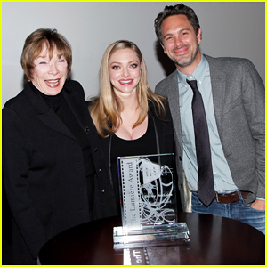 Amanda Seyfried & Fiance Thomas Sadoski Honor 'Last Word' Co-Star Shirley MacLaine!