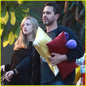 Amanda Seyfried & Husband Thomas Sadoski Step Out After Secret Wedding