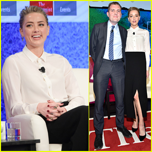 Amber Heard Advocates for LGBT Rights at Pride & Prejudice Conference