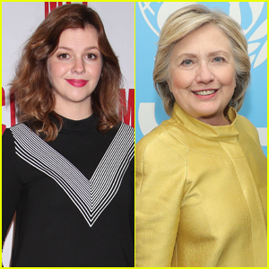 Amber Tamblyn Reveals Her Daughter's Name With Help From Hillary Clinton!