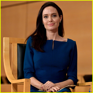 Angelina Jolie Says She's a 'Proud American' at UN in Geneva